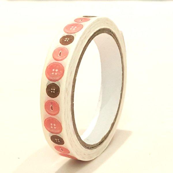 Washi Tape, Button, SKU: WT080171