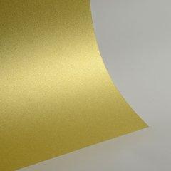 """Ultra Fine Glitter Sticky Paper, 6"""" x 9"""" x 5 sheets, Champagne Gold, SKU# GT-160"""