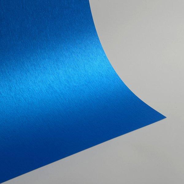 """Satin Glitter Sticky Paper, 6"""" x 9"""" x 5 sheets, Satin Royal Blue, SKU# GTS-201"""