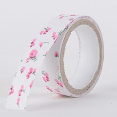 Fabric Decorative Tape, Flower, SKU: FL044
