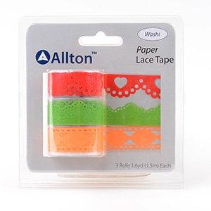 Paper Decorative Tape, Lace, SKU: TPB180030