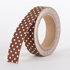 Fabric Decorative Tape, Dots, SKU: DT010