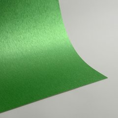 "Satin Glitter Sticky Paper, 12"" x 12"" x 1 sheet, Satin Apple Green, SKU# GTS-1212105"