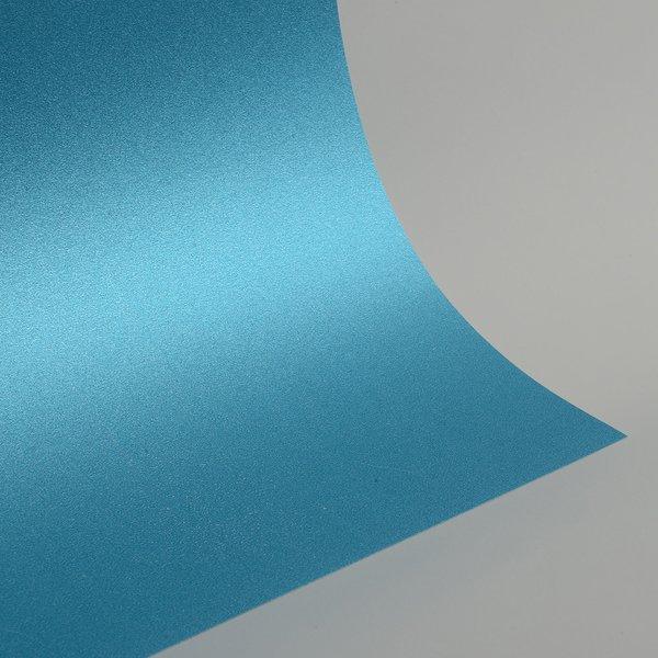 "Ultra Fine Glitter Card Stock, 12"" x 12"" x 3 sheets, Aqua Blue , SKU# GC-1212009-3"