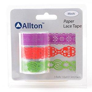 Paper Decorative Tape, Lace, SKU: TPB180031