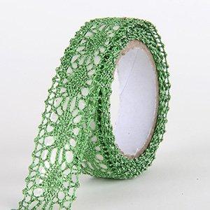 Fabric Decorative Tape, Glitter Lace, SKU: GL105