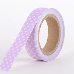 Fabric Decorative Tape, Dots, SKU: DT005