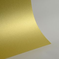 "Glitter Card Stock, 12"" x 12"" x 1 sheet, Champagne Gold , SKU# GC-1212002"