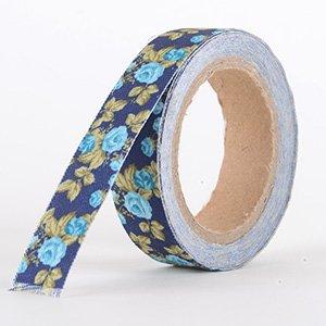 Fabric Decorative Tape, Flower, SKU: FL039