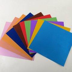 """Ultra Fine Glitter Sticky Paper Mix Pack(2), 12"""" x 12"""" x 10 sheets, SKU# GT-1212902-10"""