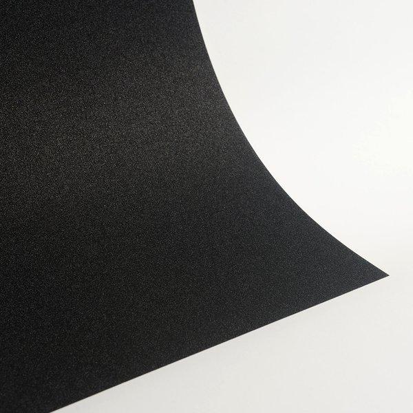 """Ultra Fine Glitter Sticky Paper, 12"""" x 12"""" x 1 sheet, Black, SKU# GT-1212006"""