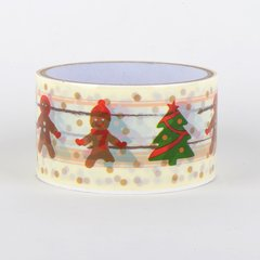Christmas Gift Wrapping Tape, Gingerbread Men, SKU: DT480152