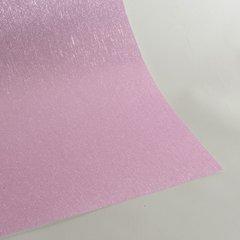 """Satin Glitter Sticky Paper, 12"""" x 12"""" x 1 sheet, Satin Baby Pink, SKU# GTS-1212115"""