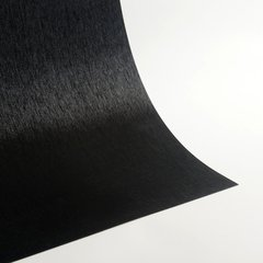 "Satin Glitter Sticky Paper, 6"" x 9"" x 5 sheets, Satin Black, SKU# GTS-199"