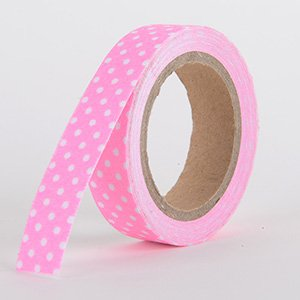 Fabric Decorative Tape, Dots, SKU: DT004