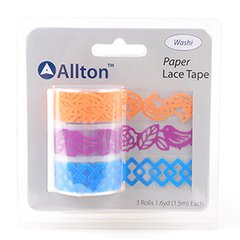 Paper Decorative Tape, Lace, SKU: TPB180032