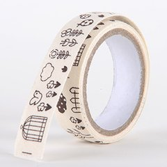 Fabric Decorative Tape, Cotton, SKU: CT006