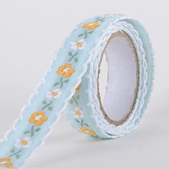 Fabric Decorative Tape, Embroidered, SKU: EM006