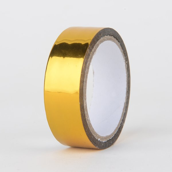 Decorative Tape, Foil Metallic Gold, SKU: DT150161