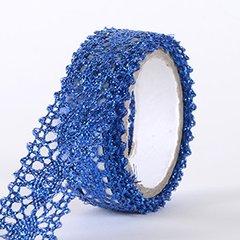Fabric Decorative Tape, Glitter Lace, SKU: GL109