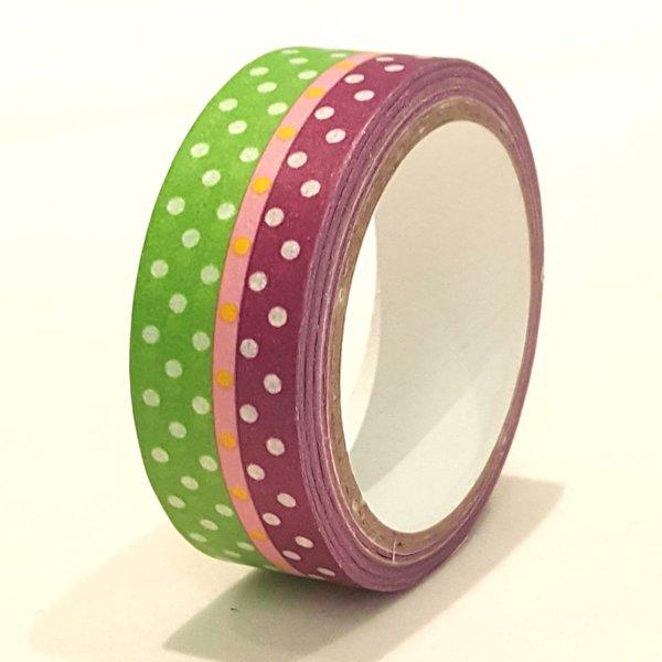 Washi Tape, Dots, SKU: WT150168