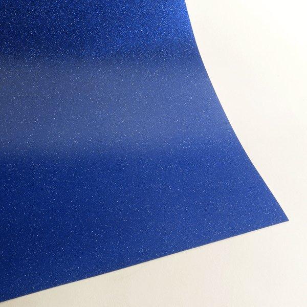 """Ultra Fine Glitter Sticky Paper, 6"""" x 9"""" x 5 sheets, Navy Blue, SKU# GT-220"""