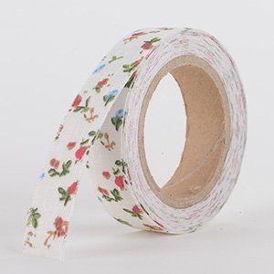 Fabric Decorative Tape, Flower, SKU: FL022