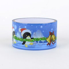 Christmas Gift Wrapping Tape, Santa Snowmen, SKU: DT480154