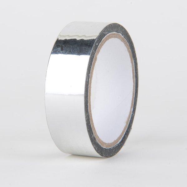 Decorative Tape, Foil Metallic Silver, SKU: DT150162