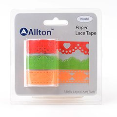 Paper Decorative Tape, Lace, SKU: TPB180030