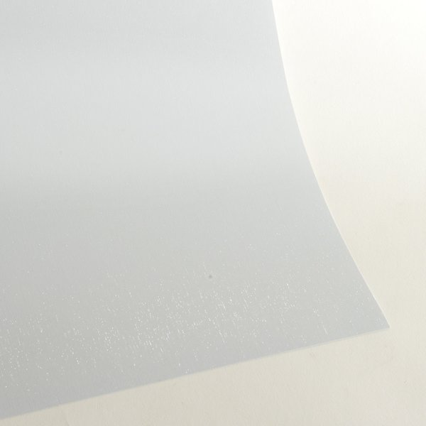 "Satin Glitter Sticky Paper, 6"" x 9"" x 5 sheets, Satin White, SKU# GTS-209"
