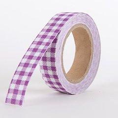 Fabric Decorative Tape, Checker, SKU: CH303