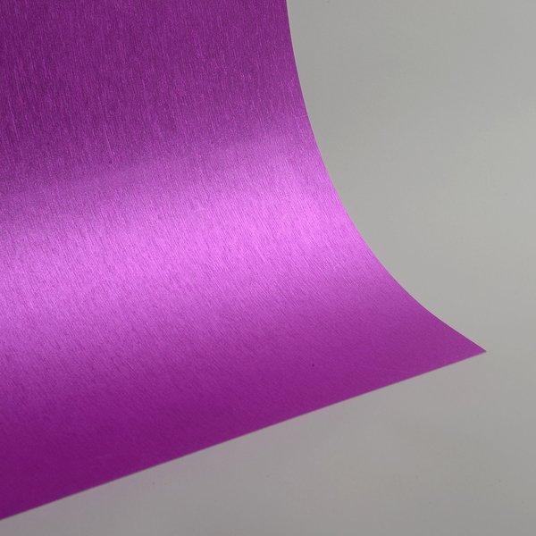 """Satin Glitter Sticky Paper, 6"""" x 9"""" x 5 sheets, Satin Rose Pink, SKU# GTS-191"""