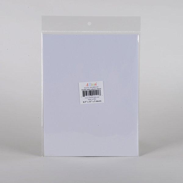 "DS-08081105, D/S Tissue Sheet, 8.5"" x 11"" x 5 sheets"