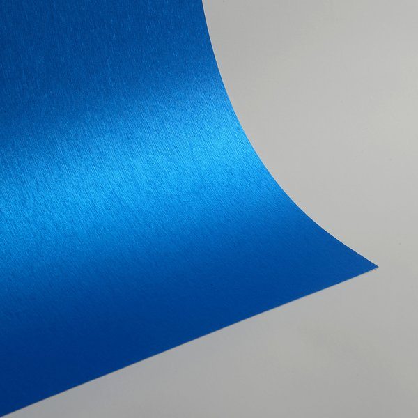 "Satin Glitter Sticky Paper, 12"" x 12"" x 1 sheet, Satin Royal Blue , SKU# GTS-1212108"
