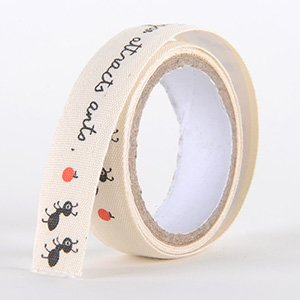 Fabric Decorative Tape, Cotton, SKU: CT004