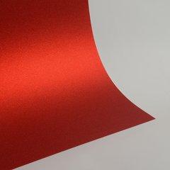"Ultra Fine Glitter Sticky Paper, 12"" x 12"" x 1 sheet, Red, SKU# GT-1212003"
