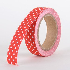 Fabric Decorative Tape, Dots, SKU: DT012