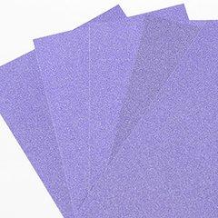"""Ultra Fine Glitter Sticky Paper, 6"""" x 9"""" x 5 Sheets, Purple, SKU# GT-148P"""