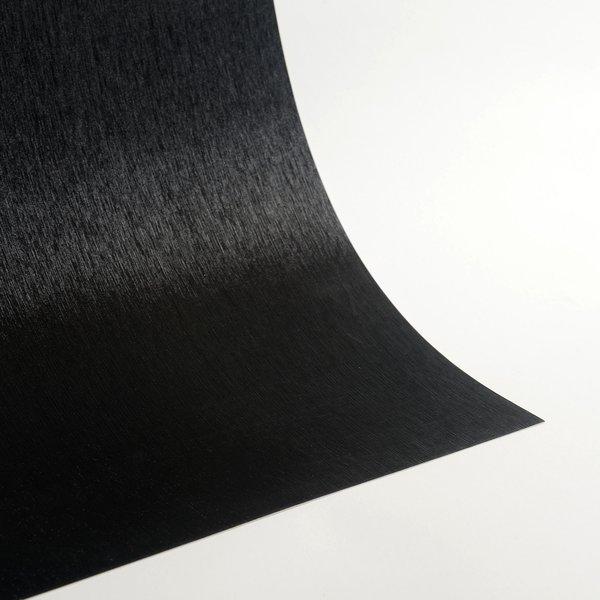 """Satin Glitter Sticky Paper, 6"""" x 9"""" x 5 sheets, Satin Black, SKU# GTS-199"""
