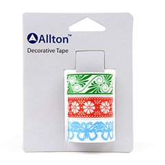 OPP Decorative Tape, Lace, Flat Edge, SKU: TOB180037