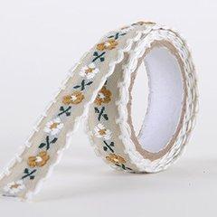 Fabric Decorative Tape, Embroidered, SKU: EM007