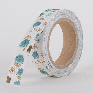 Fabric Decorative Tape, Flower, SKU: FL021