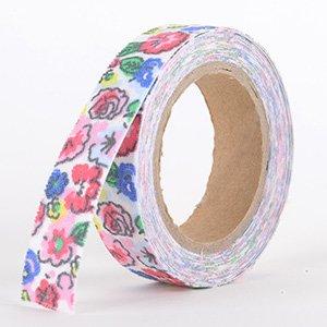 Fabric Decorative Tape, Flower, SKU: FL036