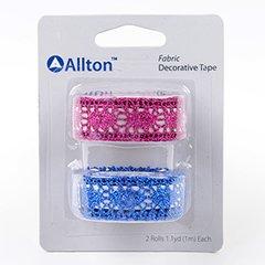 Fabric Decorative Tape, Glitter Lace, SKU: TFB150063