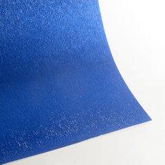 """Satin Glitter Sticky Paper, 12"""" x 12"""" x 1 sheet, Satin Navy Blue, SKU# GTS-1212113"""