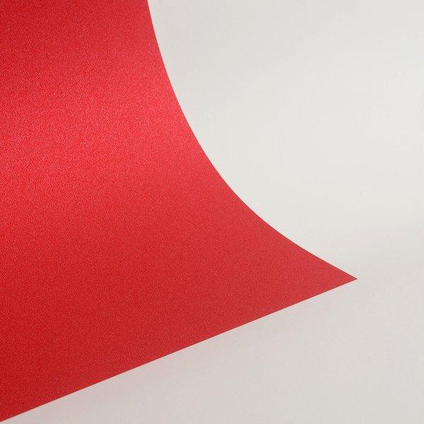 """Ultra Fine Glitter Sticky Paper, 6"""" x 9"""" x 5 sheets, Gala Red, SKU# GT-182"""