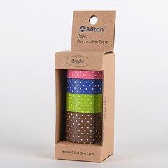 Paper Decorative Tape, Dots, SKU: TPX990022