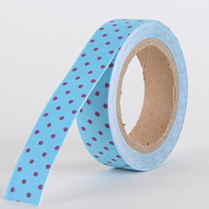 Fabric Decorative Tape, Dots, SKU: DT108
