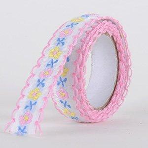 Fabric Decorative Tape, Embroidered, SKU: EM002